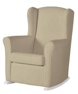 Кресло-качалка Micuna Wing/Nanny White(Цвет обивки: Smooth Brown)