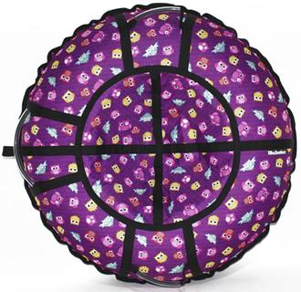 Тюбинг Hubster Люкс Pro Совята фиолетовые