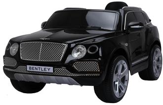 Машинка на аккум.BENTLEY, р/у (2,4 GHz, 6V7AH*2, 2*35W мотора),свет/звук,амортизаторы перед/зад.откр.двери,колеса EVA, разм. 125*73*58, цвет черный