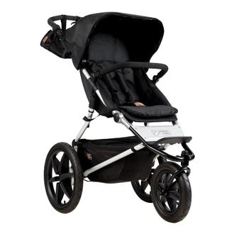 Детская прогулочная коляска Mountain Buggy Terrain Onyx Черный