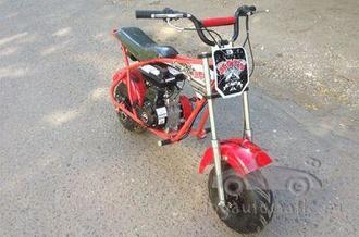 Бензиновый скутер LMOOX-R3 80сс