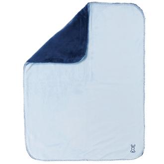 Покрывало 75х100 см Nattou Supersoft Lapidou Кролик(878425 Navy Blue/Night Blue)