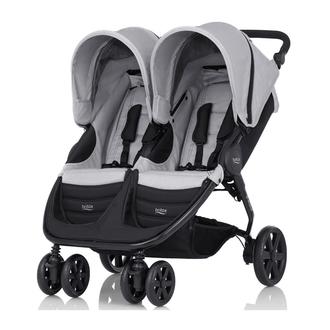 Детская коляска B-Agile Double Steel Grey