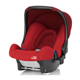 Детское автокресло Baby-Safe Flame Red Trendline