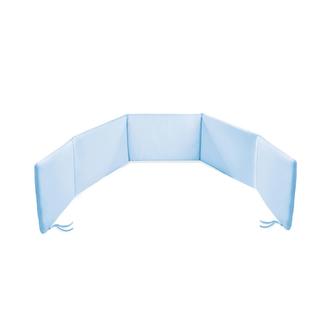 Бампер для кровати голубой