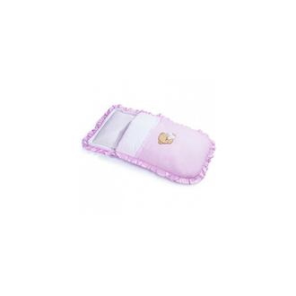 Конверт на молнии Cuoricini 40х80, розовый