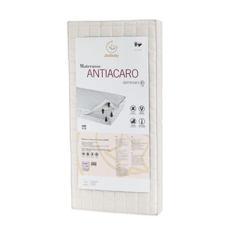 Матрас Antiacaro 63х125, белый
