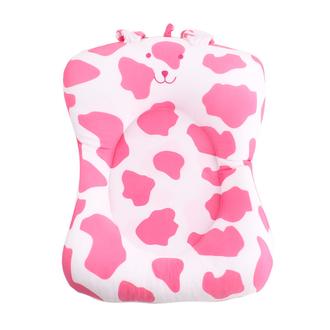 Мягкая вставка для ванны Mi 1st Bath Buddy Моя 1я ванночка, бело-розовый/медвежонок