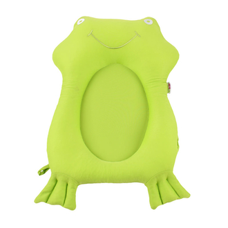Мягкая вставка для ванны Моя 1я ванночка Mi 1st Bath Buddy, зеленый/лягушонок