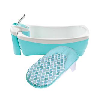 Детская ванночка-джакузи с душевым краником Lil'Luxuries, голубой