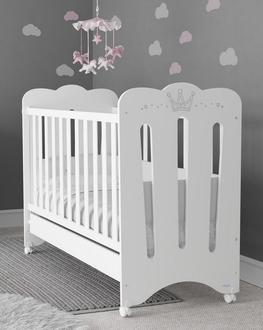 Кроватка 120x60 Micuna Meghan Матрас полиуретановый СН-620(White)