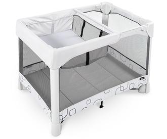 Манеж-кроватка 4Moms Breeze Classic(Серый)