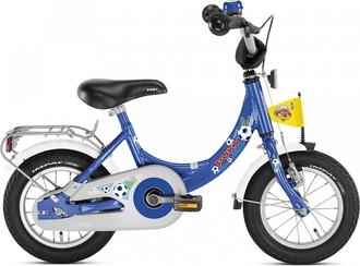 Двухколесный велосипед Puky ZL 12-1 Alu 4122 blue football синий