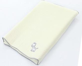 Простынь Ceba Baby на резинке на пеленальный матрасик 50x80 см(Zebra grey W-821-002-260)