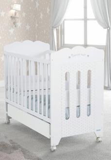 Кровать 120x60 Micuna Bonne Nuit(White)