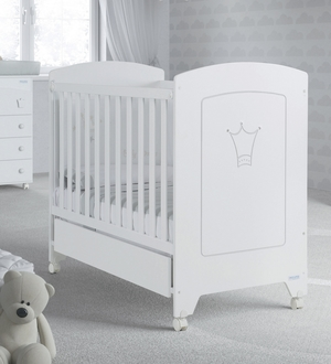 Кровать 120x60 Micuna Valentina(White)