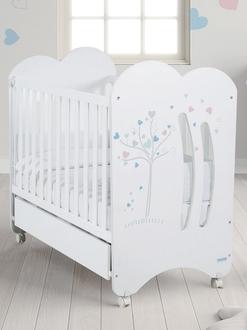 Кровать 120x60 Micuna Aura(White)