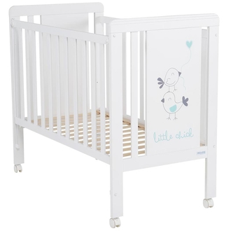 Кровать 120x60 Micuna Little Chick(White/Aquamarine)
