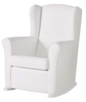 Кресло-качалка Micuna Nanny White(Цвет обивки: White Leatherette)