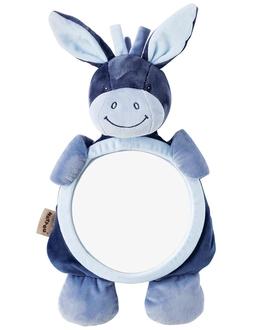 Зеркало для контроля за ребенком Nattou Mirror for car Alex Bibou Ослик и Кролик 321334