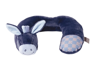 Подушка-подголовник Nattou Neck pillow Alex Bibou Ослик 321372