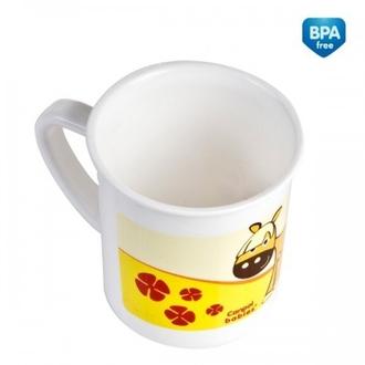 Чашка пластиковая Canpol арт. 4/413, 12+ мес., 180 мл, рисунок Лошадка