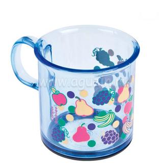 Чашка с антискользящим дном Canpol арт. 2/100, 12+ мес., 170 мл, цвет синий