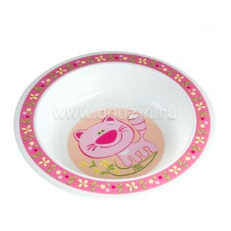 Миска пластиковая Canpol арт. 4/412, 12+ мес., цвет розовый