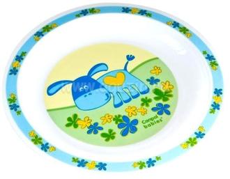 Миска пластиковая Canpol арт. 4/412, 12+ мес., цвет голубой