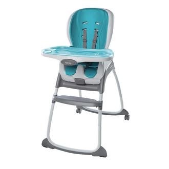 Стульчик для кормления 3 в 1 Bright Stars «Smart Clean» цвет голубой
