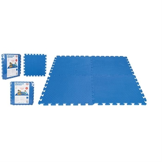 Игровой коврик 4-х секционный Pilsan Eva Play Ma (03-435) Синий