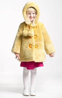 Детская шубка Ramili First (желтый)