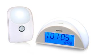 Автоматический детский ночник с функцией радионяни Switel BC110