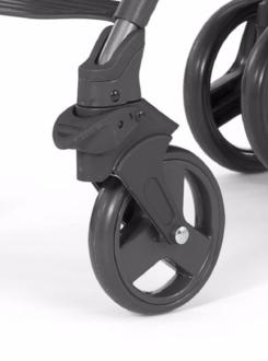 Комплект передних колес к коляске Chicco LiteWay (темносерые)