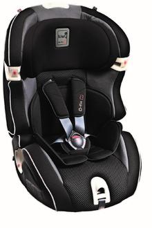 Детское автокресло KIWY SLF 123 Q-FIX PLUS гр. 1/2/3 Carbon Черный