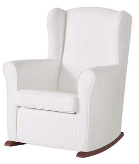Кресло-качалка Micuna Nanny Chocolate(Цвет обивки: White Leatherette)