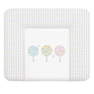 Пеленальный матрац 70x85 см Ceba Baby мягкий на комод(W-134-072-130 Magic Tree Pink)