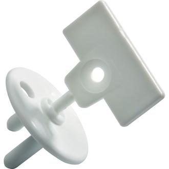 Заглушка для розетки с ключом Safety 1st (12 шт.) цвет белый