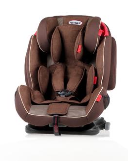 Детское автокресло HEYNER Capsula MultiFix ERGO гр. 123 Cookie Brown коричневый