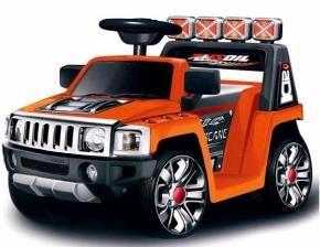 Машина на аккумуляторе (1х6V, 4.5Ah), на пульте управления, в/к 76*43*45 см цв.оранжевый