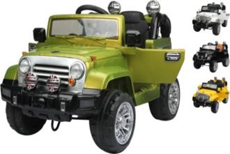 Машина на аккумуляторе (1х6V, 4Ah), в/к 110*61*63 см цв.зеленый