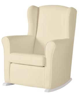 Кресло-качалка Micuna Wing/Nanny White(Цвет обивки: Smooth Cream)