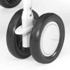 Сдвоенное колесо для коляски Chicco Simplicity (белое)