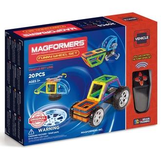 Магнитный конструктор MAGFORMERS 707012 Funny Wheel Set 20