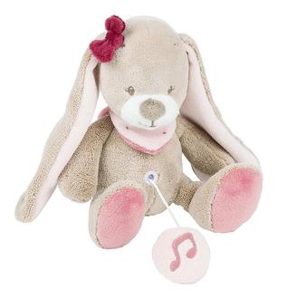 Мягкая музыкальная игрушка Nattou Soft Toy Mini Nina, Jade Lili Кролик 987080