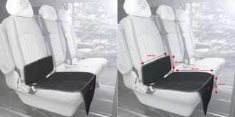 Защитный коврик на сиденье HEYNER Seat Protector Black черный