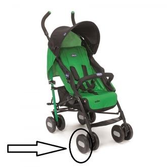 Колесо одинарное переднее к коляске Chicco Echo