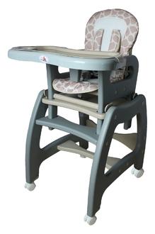 Стульчик для кормления трансформер ForKiddy Active Comfort Grey-Beige 3 в 1
