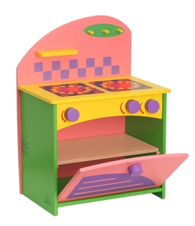 Набор кукольной мебели КРАСНОКАМСКАЯ ИГРУШКА КМ-06 Газовая плита