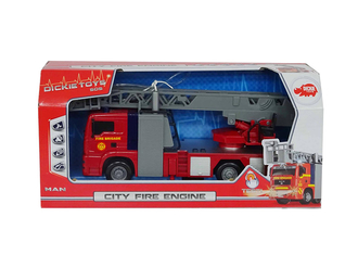 Игрушка DICKIE 3715001 Пожарная машина 31 см (свет, звук, вода)